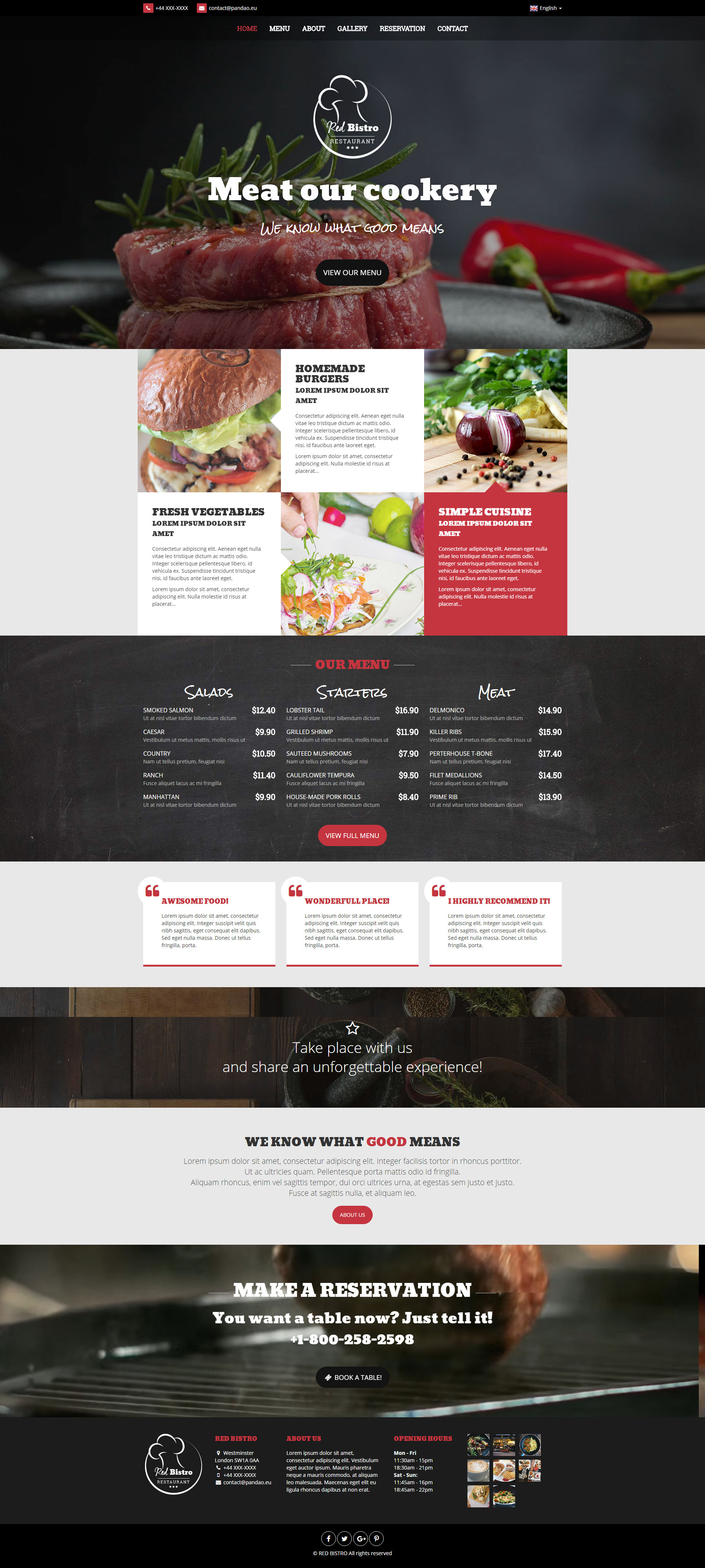 Pizzeria/Bar/Restauracja Red Bistro