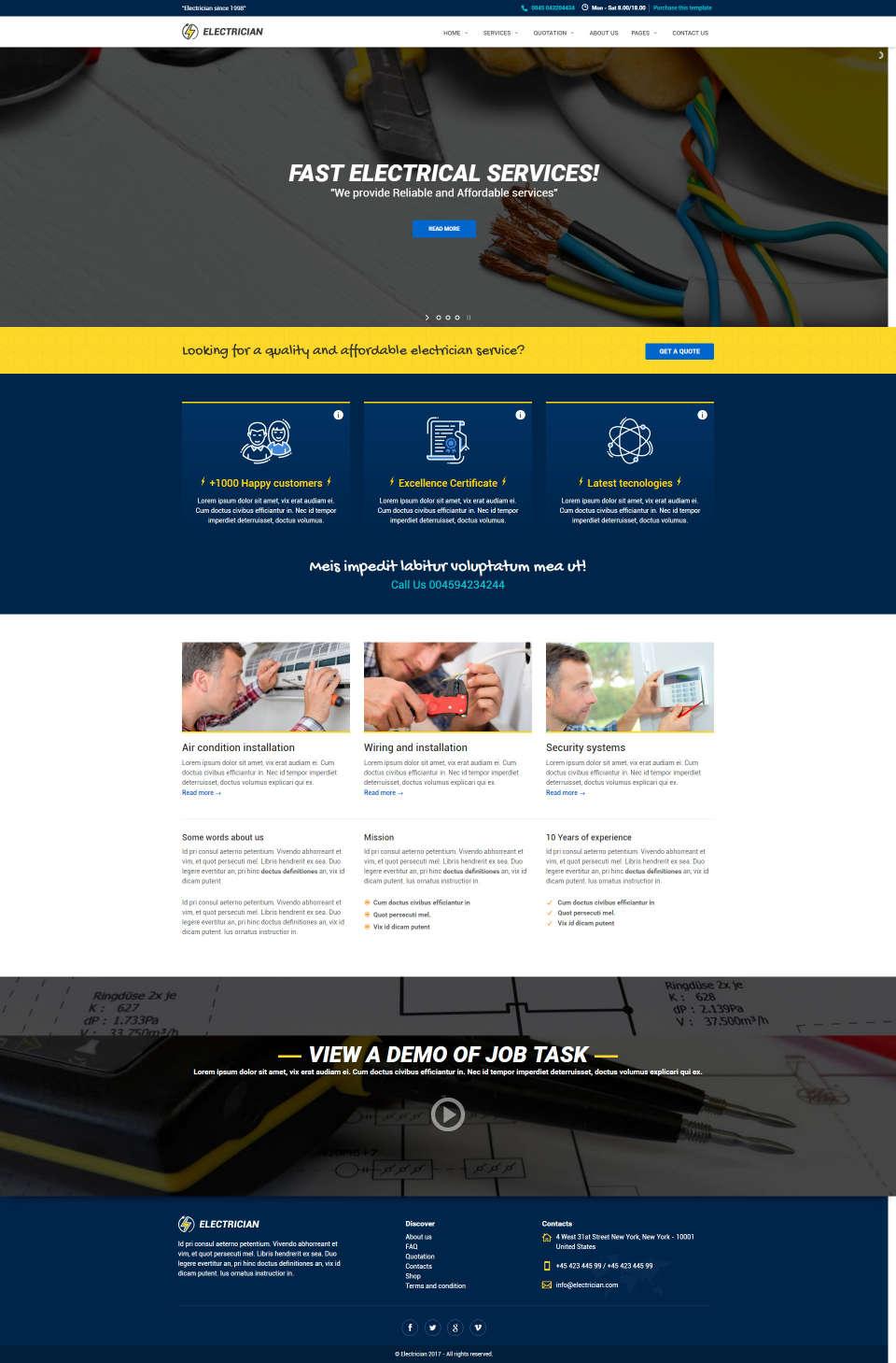 Strona internetowa dla elektryków i serwisantów