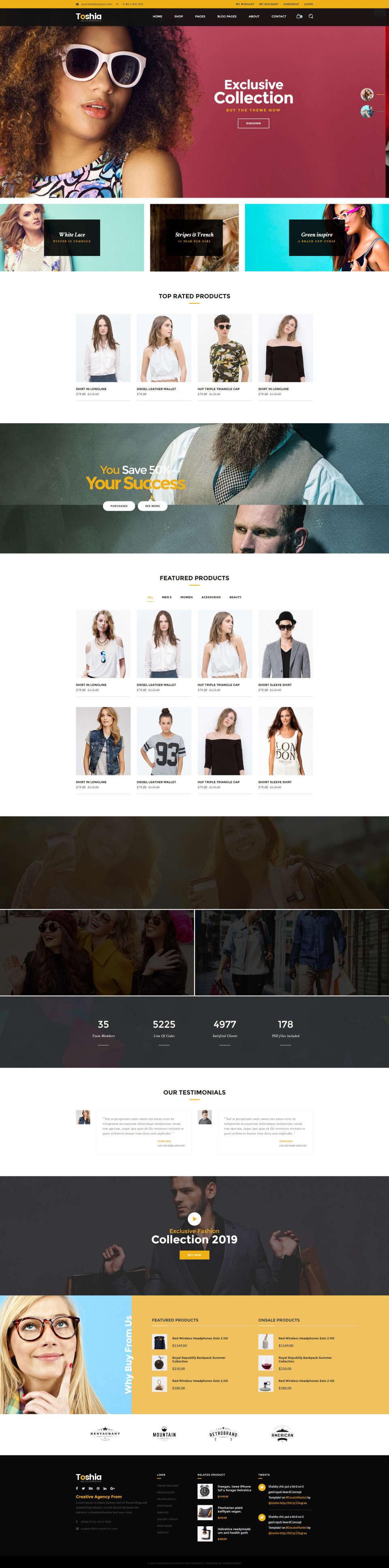 Responsywny i nowoczesny modowy sklep internetowy